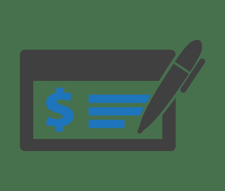 Top  Cheque Internetinis kazinos 2021 -Low Fee Deposits