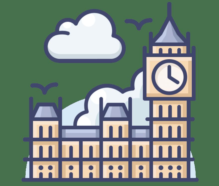 Geriausi 36 Internetinis Kazino Apvienotā Karaliste 2021-iais