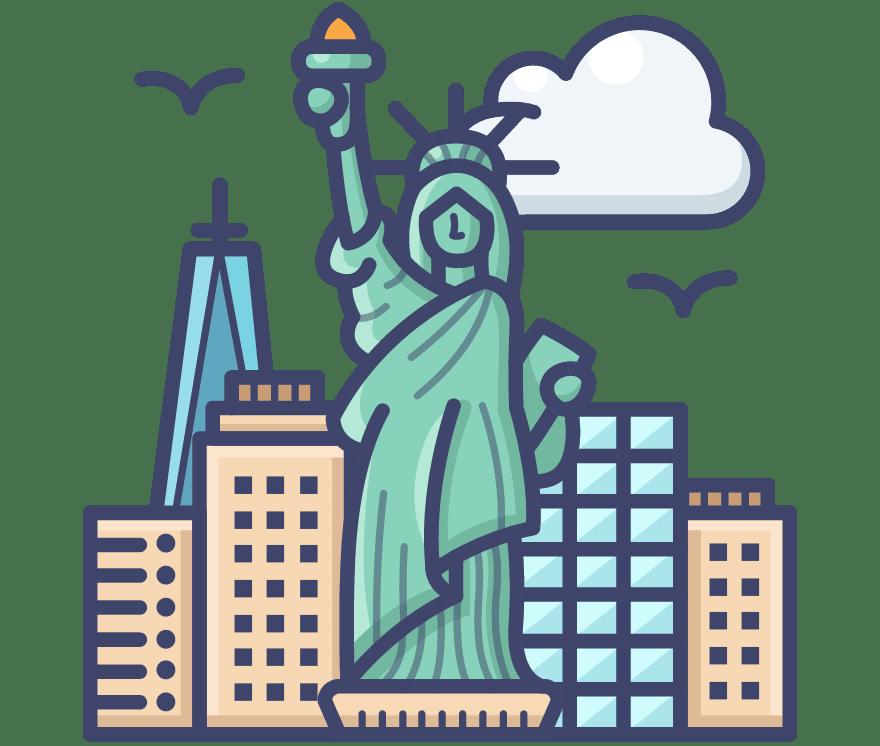 Geriausi 16 Internetinis kazino Amerikas Savienotās Valstis 2021-iais