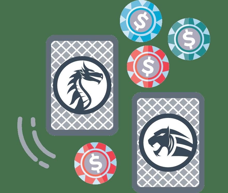 """Žaisk """"Dragon Tiger"""" pokeris internetu – 29 pelningiausi Internetinis Kazino 2021-iais"""